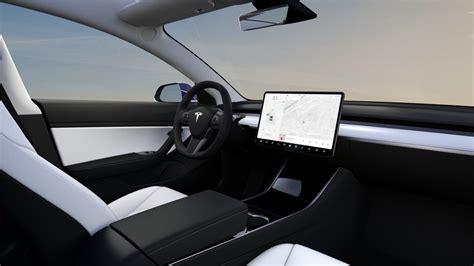 tesla model 3 interieur mondial de l auto 2018 tesla exposera sa model 3 tech numerama