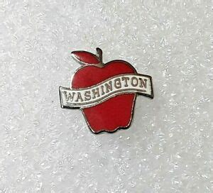Washington Apple Commission Enamel Lapel Pin | eBay