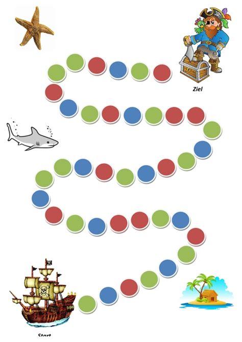 piraten wuerfelspiel kindersprache madoonet