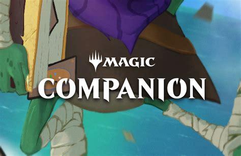 The Companion mtg companion mobile app impressions a start