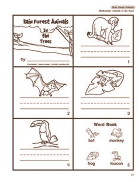 preschool rainforest lesson plans quot walking in the jungle quot animals matching worksheet from 835