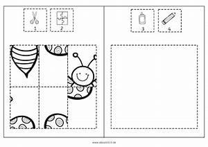 Puzzle Zum Ausdrucken : schmetterlinge ausschneiden puzzeln kleben ausmalen ~ Lizthompson.info Haus und Dekorationen