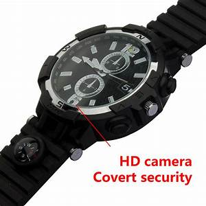 New Product Manual Wireless Wifi Smart Camera Watch With Motion Detection Alarm Round Screen