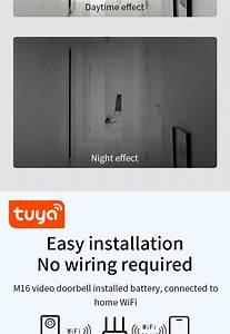 Zemismart Tuya 1080p Smart Video Doorbell Wifi Wireless