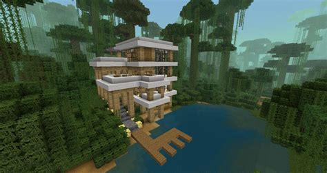 Daves Amazing Modern House! Minecraft Project