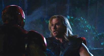 Thor Iron Avengers Ironman Headbutt Captain America