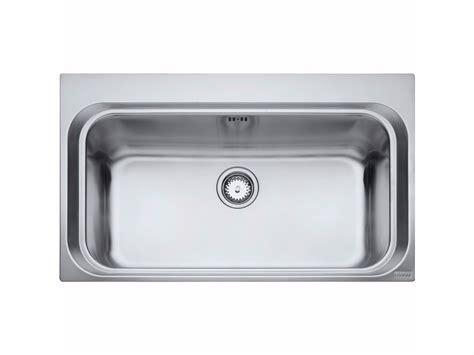 lavelli una vasca lavello a una vasca da incasso in acciaio inox aex 610 by