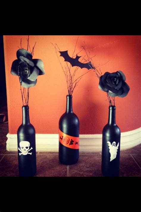ideas  halloween table centerpieces