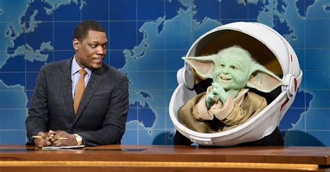 Who Played Baby Yoda On Snl