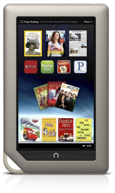 barnes and noble tablet barnes noble nook tablet specs android central