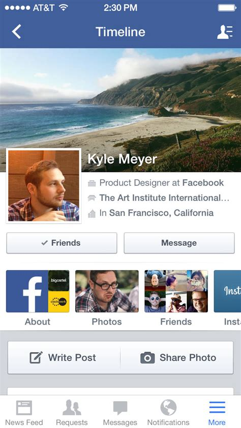 The New Facebook App for iOS 7 is Now Available for ...