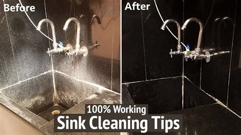 how to clean kitchen sink with vinegar and baking soda how to clean your kitchen sink how to clean sink with