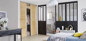 Cloison Séparation Pièce : une cloison amovible de style loft pour la chambre leroy merlin ~ Melissatoandfro.com Idées de Décoration