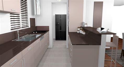 cuisine beige et marron décoration d 39 intérieur d 39 une cuisine à nogent sur marne