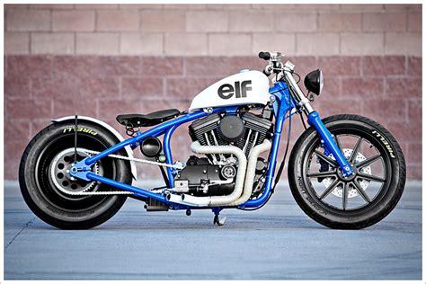 "Dp Customs '95 Harley Sportster  ""del Rey"" Pipeburncom"