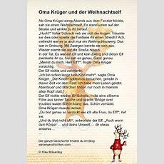 Oma Krüger Und Der Weihnachtself Winterzeit
