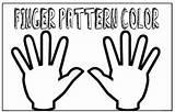 Fingers Finger Math Activities Counting Patterns Pattern Stuffed Double Activity Learning Way Plays Printable Give sketch template