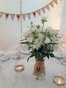Centre De Table Champetre : decoration table mariage boheme ~ Melissatoandfro.com Idées de Décoration