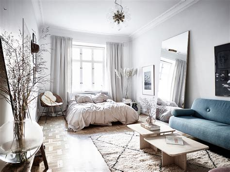 1 Bedroom Apartment Style Ideas by 15 Stylish Ways To Decorate A Studio Apartment Apartment