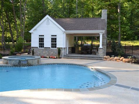 Pool House, Outdoor Kitchen & Fireplace   Greensward LLC