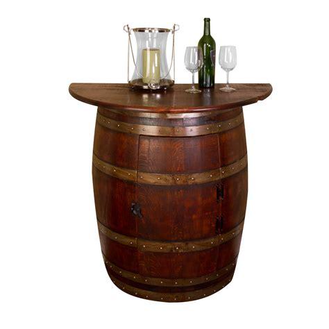 31731 oak barrel furniture half barrel wall cabinet napa east