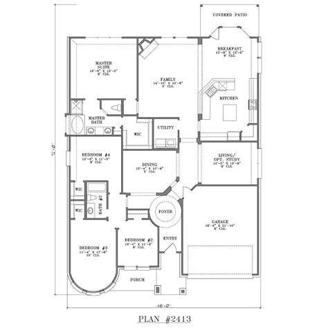 ranch style home interior design 4 bedroom one story house plans 5 bedroom one story