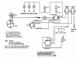 Wiring Diagram For Ford 2000 Tractor  U2013 Diagram Database