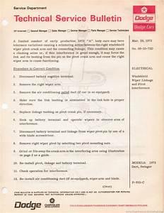 The 1970 Hamtramck Registry  U0026quot 1972 Dodge Tsbs U0026quot  Page