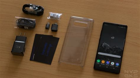 samsung galaxy note 8 unboxing and noypigeeks