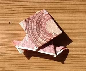 Rose Aus Geld Falten : einen frosch aus geld falten anleitung ~ Lizthompson.info Haus und Dekorationen