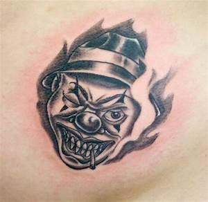 Tattooz Designs: Tattoo Designs of Clowns| Tattoo Designs ...