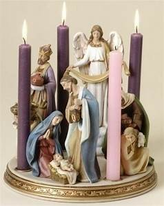 134 best nativities images on pinterest nativity scenes for Kitchen colors with white cabinets with nativity advent candle holder