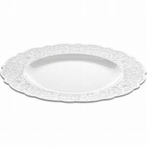 Service Assiette Design : dressed assiette plate alessi porcelaine blanche assiette ~ Teatrodelosmanantiales.com Idées de Décoration