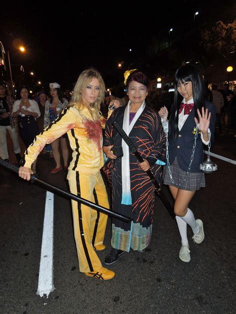 west hollywood halloween carnaval kill bill costumes