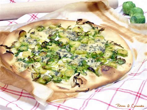 comment cuisiner des choux de bruxelles pizza aux choux de bruxelles et stilton