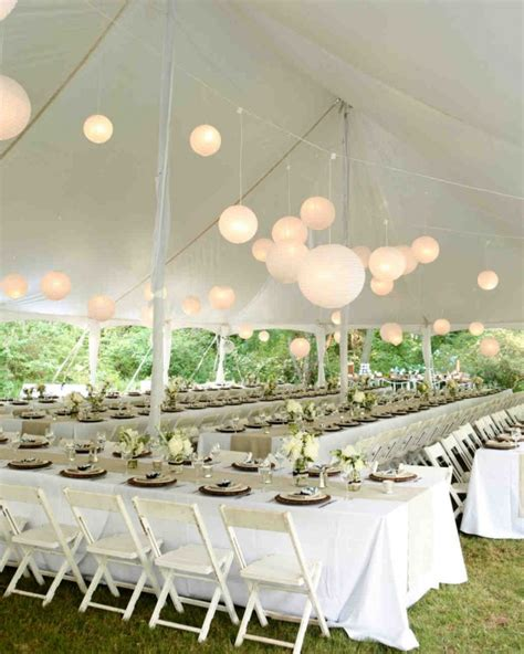 22 outdoor wedding tent decoration ideas every will love