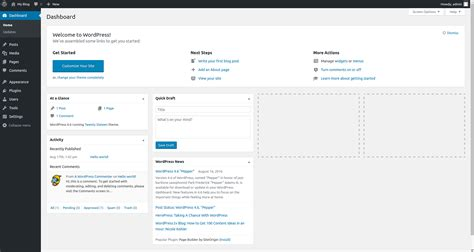 login wordpress  dua langkah mudah