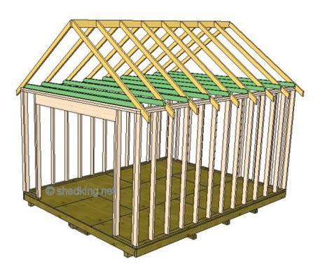 gable roof frame gable shed roof building a shed roof shed roof construction