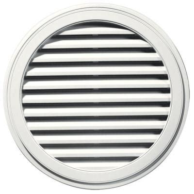 decorative gable vents home depot builders edge 36 in gable vent in white
