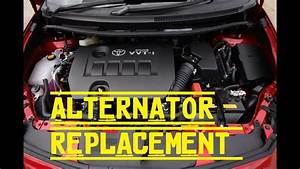 How To Replace The Alternator On Your Toyota Corolla 2009