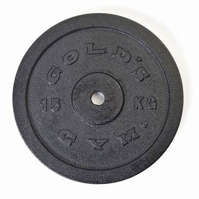 Weight Plate Gym Golds 15kg Iron Standard