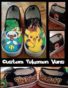 Custom Pokemon Vans