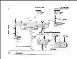 W126 86 560 Sec A  C And Aux Fan Problems