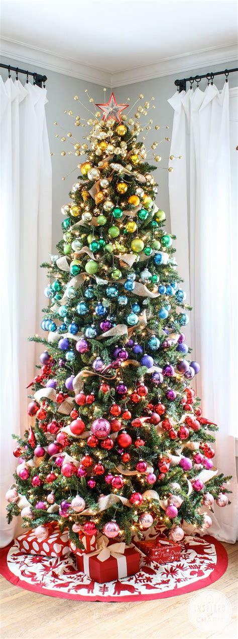ideeen om de kerstboom te versieren mamaliefdenl