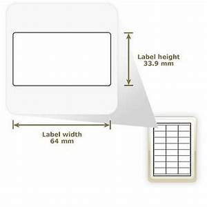 a4 glossy white address labels 24 labels With glossy address labels