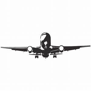 Flugzeug Abflug Wandtattoo