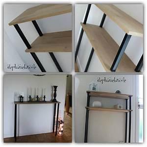 Meuble A Faire Soi Meme Recup : diy d co faire un meuble console au style industriel soi ~ Zukunftsfamilie.com Idées de Décoration