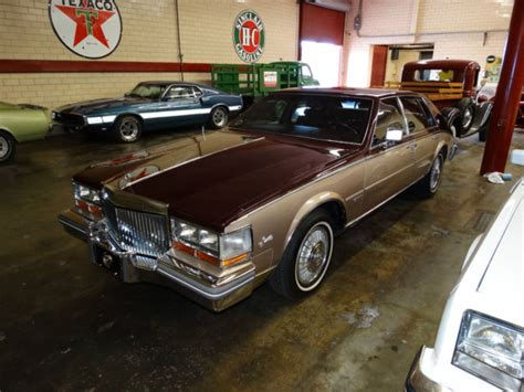 1981 Cadillac Seville Base Sedan 4-door 6.0l For Sale