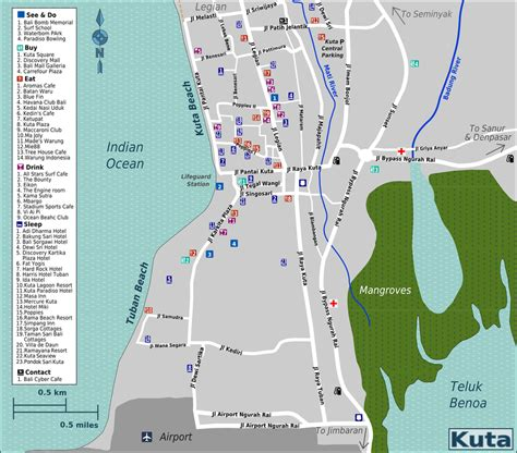 bali maps  bali area information ausindo bali villas