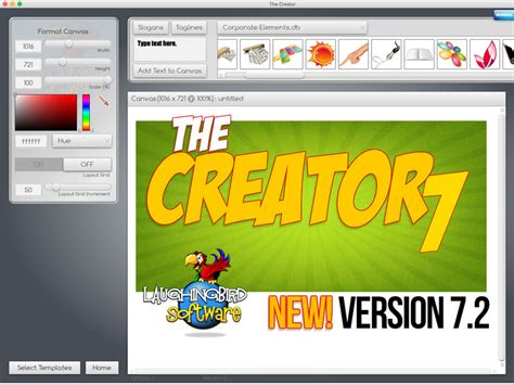 the creator for mac 7 2 9 free download the logo creator by laughingbird software